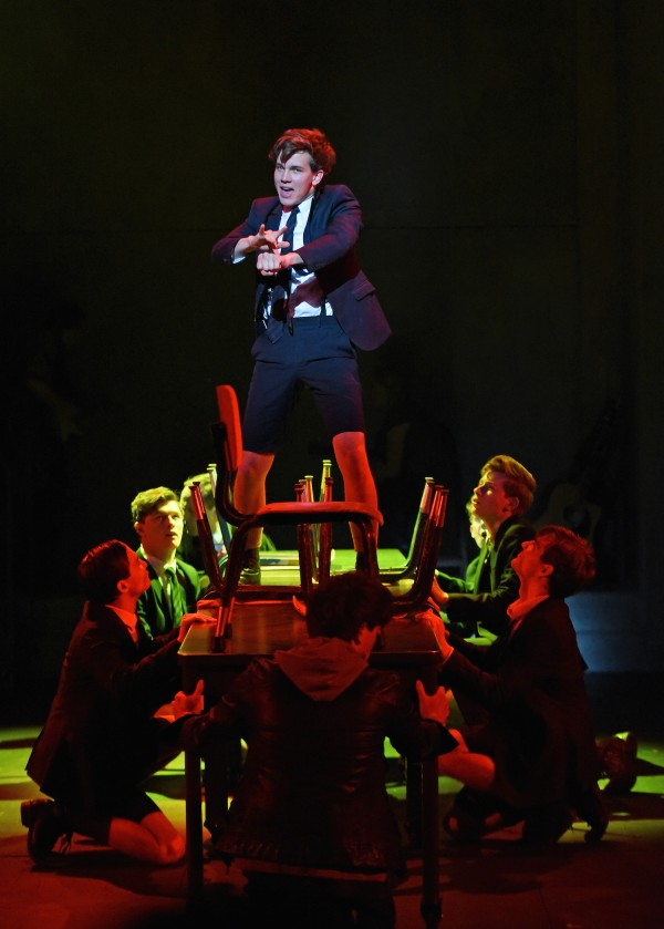 TheCast of Deaf West's production of Spring Awakening, seen at The Wallis in Beverly Hills