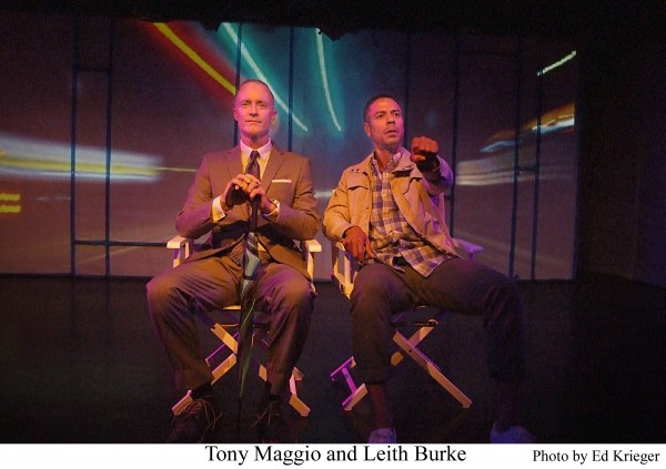 l-r, Tony Maggio and Leith Durke in Citizen, An American Lyric.