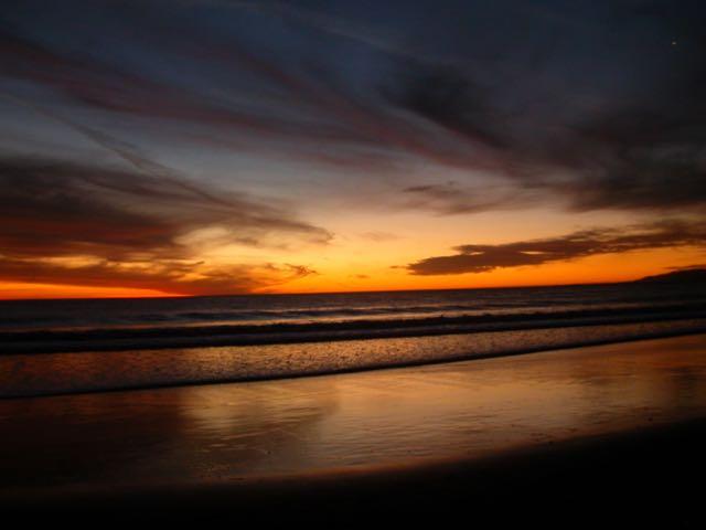 Ten Degrees Cooler At Sunset