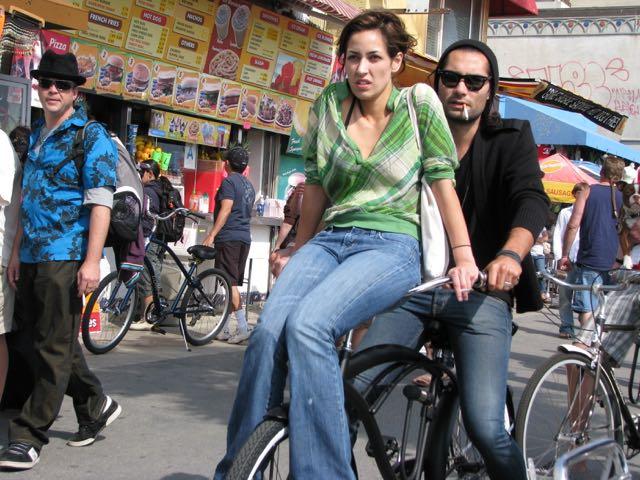 Bicycling Down The Boardwalk