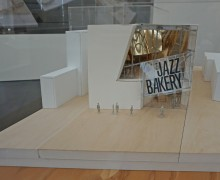 Jazz Bakery model, by Frank Gehry 2011