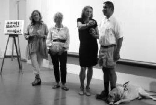 Sense the Wind Q&A at 2014 fundraiser event in Jamestown, RI.