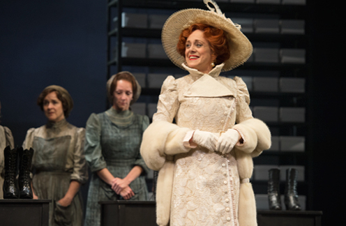 Jenny L. Wright, Catherine McGregor, and Fiona Reid in The Divine: A Play for Sarah Bernhardt. Credit: David Cooper