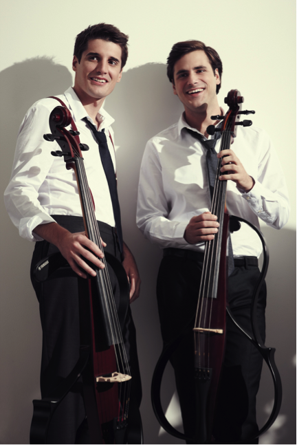 Young Croatian cellists Luka Sulic and Stjepan Hauser, known as 2CELLOS, became sensations by breaking musical boundaries.    2Cellos -- Live At Arena Zagreb from APT Premium Service