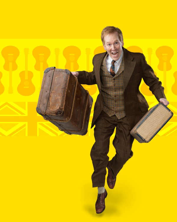 Dan Donohue in One Man Two Guvnors.