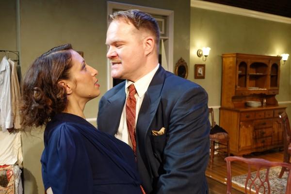 Melissa Paladino and David Agranov in Awake & Sing. Photo by Ron Sossi.
