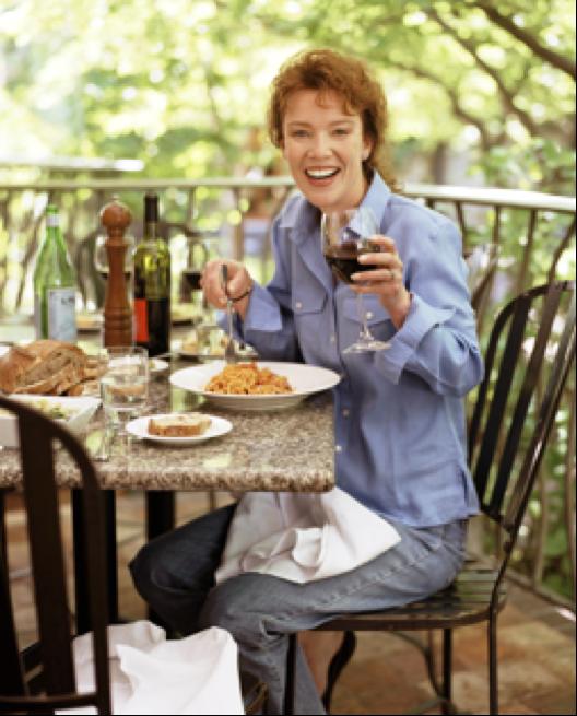 Host Karen MacNeil of the Grace Creek Media series Wine Food & Friends
