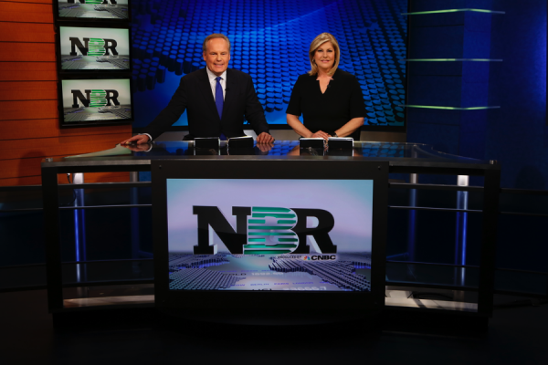 Tyler Mathisen and Sue Herera co-anchor NBR (Nightly Business Report), a public television weeknightly staple for more than 35 years. APT Exchange
