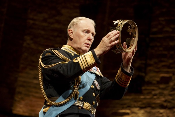 Tim Pigott-Smith in King Charles III. Credit: joan Marcus