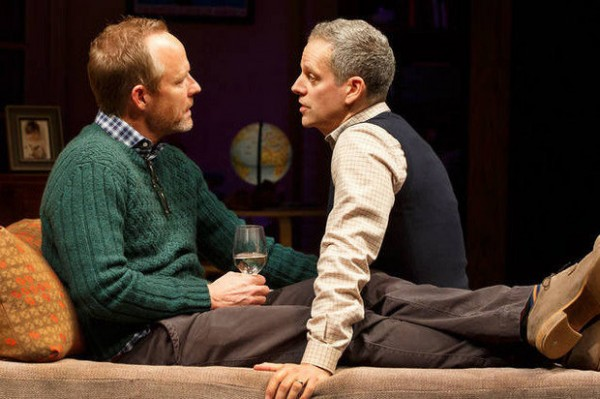 John Benjamin Hickey and Patrick Breen in Dada Woof Papa Hot Credit: Joan Marcus