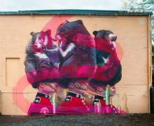 Thelmo and Miel street art