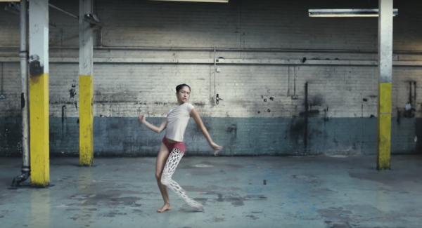 Sonoya Mizuno dances in WIDE OPEN
