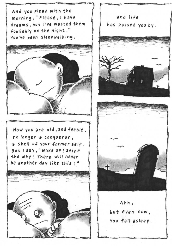 An illustrated poem by Wolfgang Carstens and Janne Karlsson