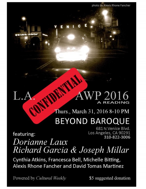 AWP Reading at Beyond Baroque 3/31/15 poster.pages