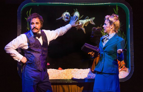 Roger Bart and Kerry Butler in Disaster! Credit: Jeremy Daniel Photography