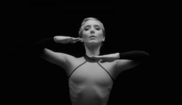 Sarah Lamb slices the air in Sarah Lamb: Portrait of a Dancer