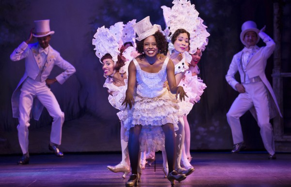 """Adrienne Warren and company perform """"I'm Just Wild About Harry"""" in Shuffle Along, or The Making of the Musical Sensation of 1921 and All That Followed Credit: Julieta Cervantes"""