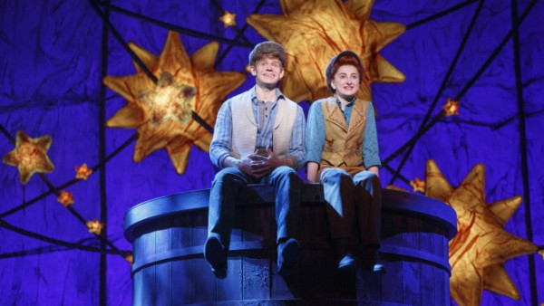 Sarah Charles Lewis and Andrew Keenan-Bolger in Tuck Everlasting Credit: Joan Marcus