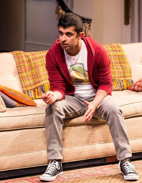 "Behzad Dabu in Ayad Akhtar''s ""Disgraced,""  at The Mark Taper Forum."