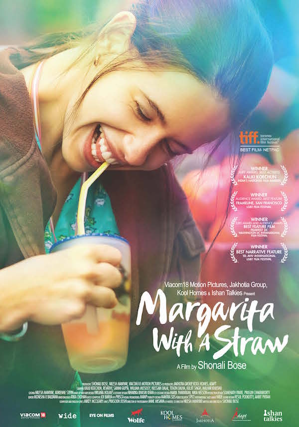 Poster MARGARITA WITH A STRAW - Courtesy of Wolfe Video