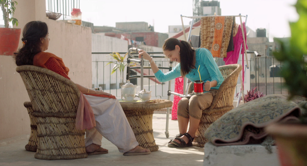Revathy (left) and Kalki Koechlin (right) in MARGARITA WITH A STRAW - Courtesy of Wolfe Video