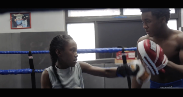 Toni and brother Jermaine train in THE FITS