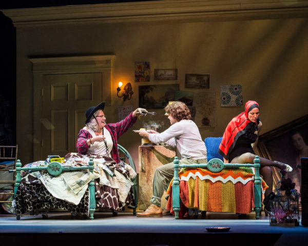 "L-R: Betty Buckley, Josh Young and Rachel York in ""Grey Gardens"" The Musical."