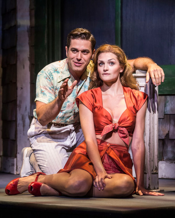 "Josh Young and Sarah Hunt in ""Grey Gardens"" The Musical."