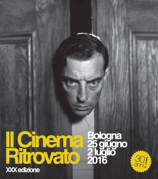Il Cinema Ritrovato 2016 manifesto