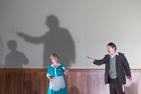 Luretta Bybee and Greer Grimsley in Sweeney Todd at the Glimmerglass Festival. Credit: Karli Cadel/Glimmerglass Festival