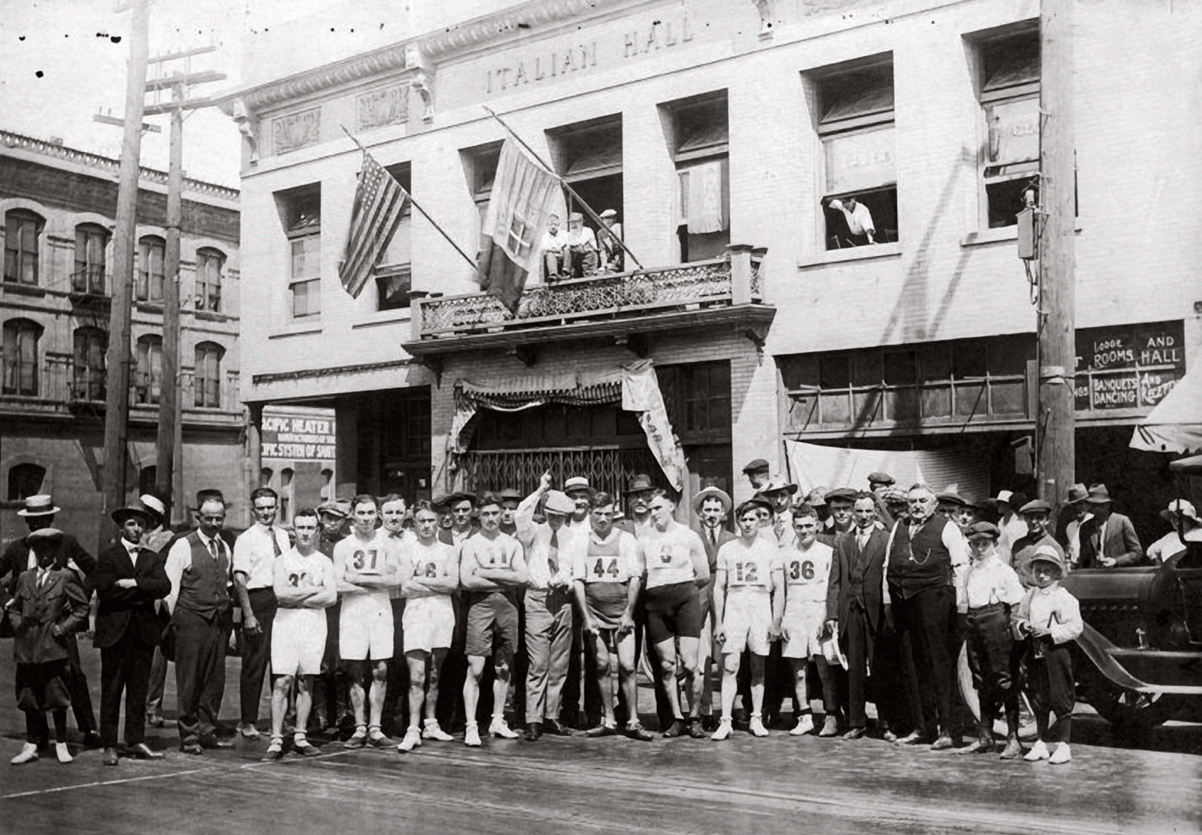 Foot race 1917