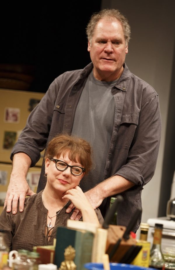 Amy Warren and Jay O. Sanders in What Did You Expect? Credit: Joan Marcus