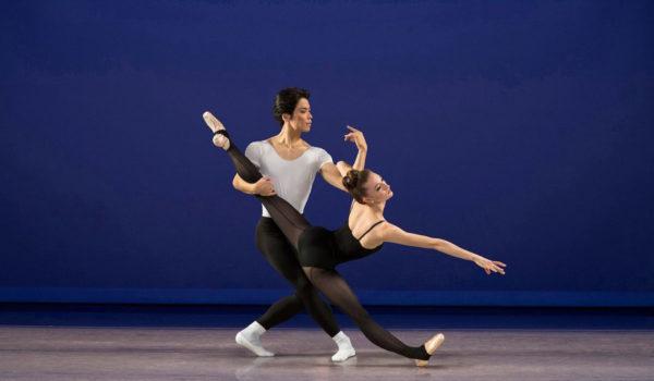 Los Angeles Ballet's Kenta Shimizu & Julia Cinquemani  Photo by Reed Hutchinson