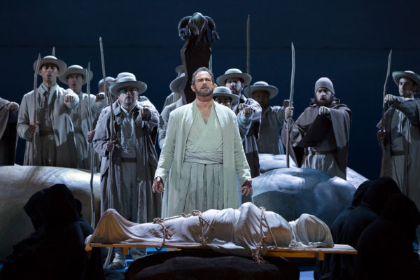 Gerald Finley in Guillaume Tell Credit: Marty Sohl/Metropolitan Opera