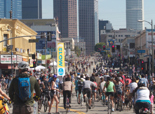 A day in the life of CicLAvia