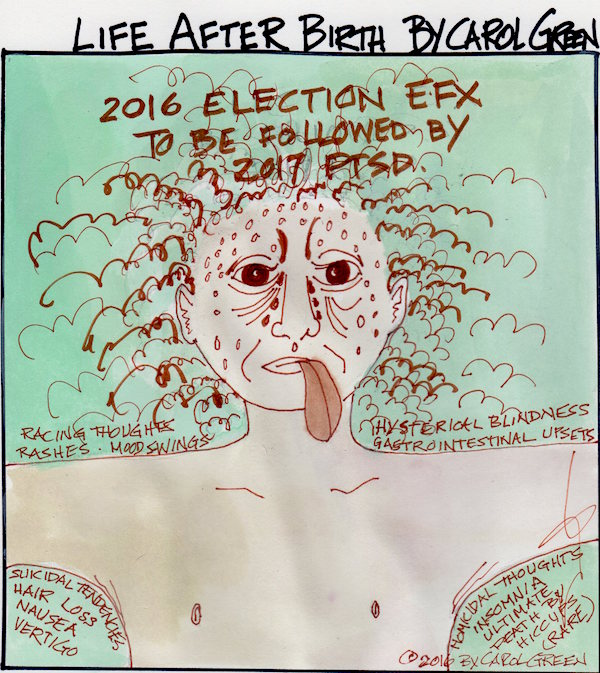 2016 Election EFX to be followed by 2017 PTSD Vote anyway.