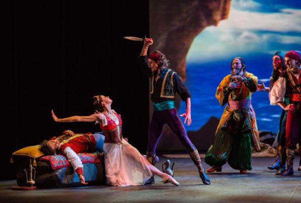 Mihailovsky Ballet's Le Corsaire Photo by Sergei Tiagin