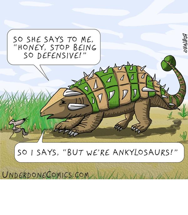 Defensive Ankylosaur