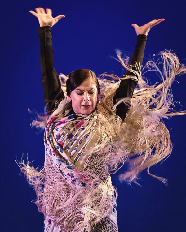 Theatre Flamenco of San Francisco Photo of Carola Zertuche Photo by Christine Fiu