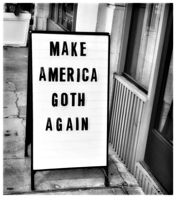 America Has Always Been Goth