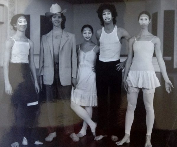 The old days: MoMing Dancers: Susan Kimmelman, Jim Self, Kasia Mintch, Eric Trules, & Jackie Radis