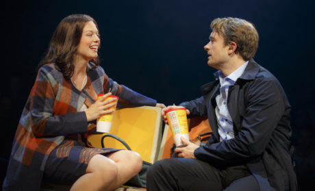 Margo Seibert and James Snyder in In Transit. Credit: Joan Marcus