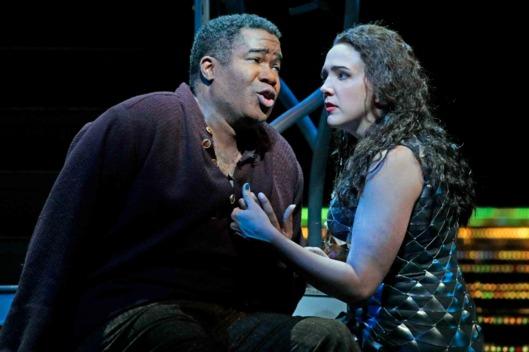 Eric Owen and Susanna Philips in L'Amour de Loin. Credit: Ken Howard/Metropolitan Opera