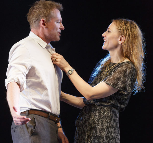 Richard Roxburgh and Cate Blanchett in The Present. Credit: Joan Marcus