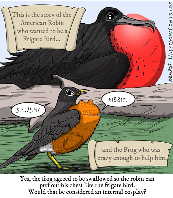 Underdone Comics: Robin Frigate Wannabe