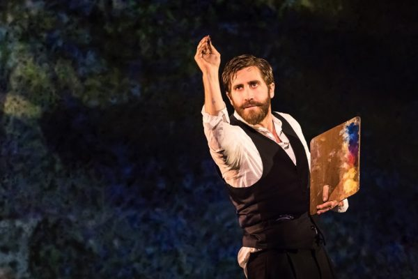 Jake Gyllenhaal in Sunday in the Park with George Credit: Matthew Murphy