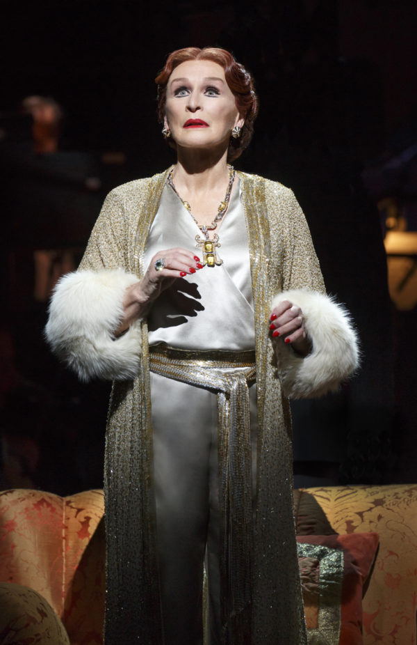 Glenn Close in Sunset Boulevard Credit: Joan Marcus