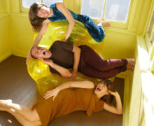 Lionel Popkin's Inflatable Trio  Photo by Cari Ann Shim Sham
