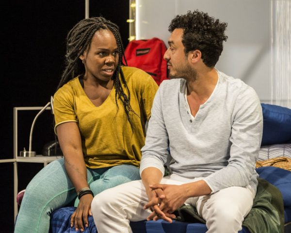Ngozi Anyanwu and Wade Allain-Marcus on Good Grief at the Kirk Douglas.