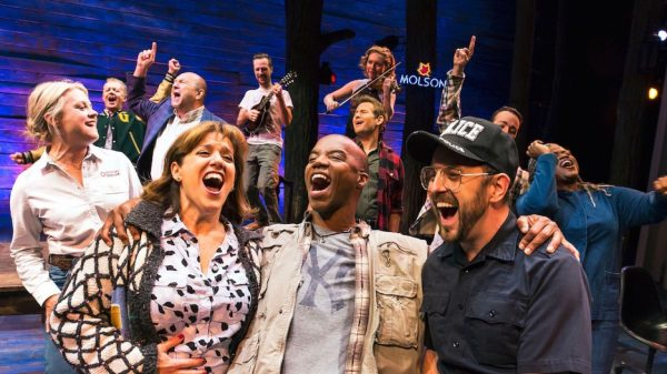 The cast of Come from Away Credit: Matthew Murphy